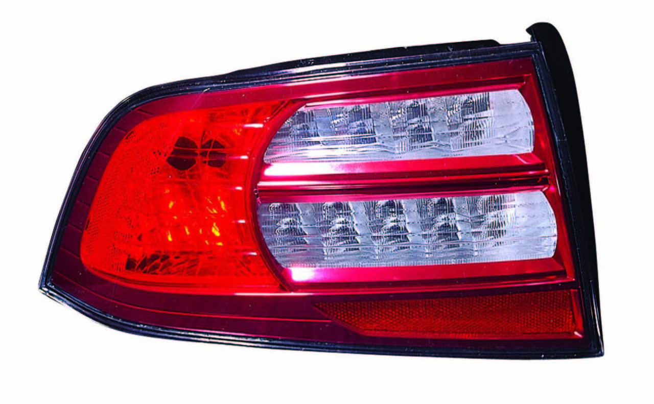 Acura TL 2007 2008 tail light left driver