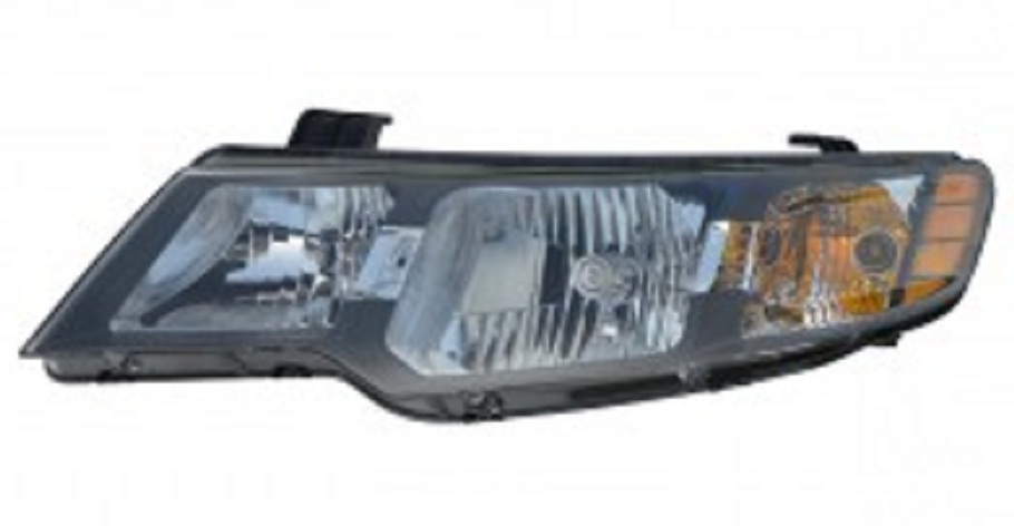 Kia Forte Coupe / Hatchback 2010 2011 2012 2013 left driver headlight