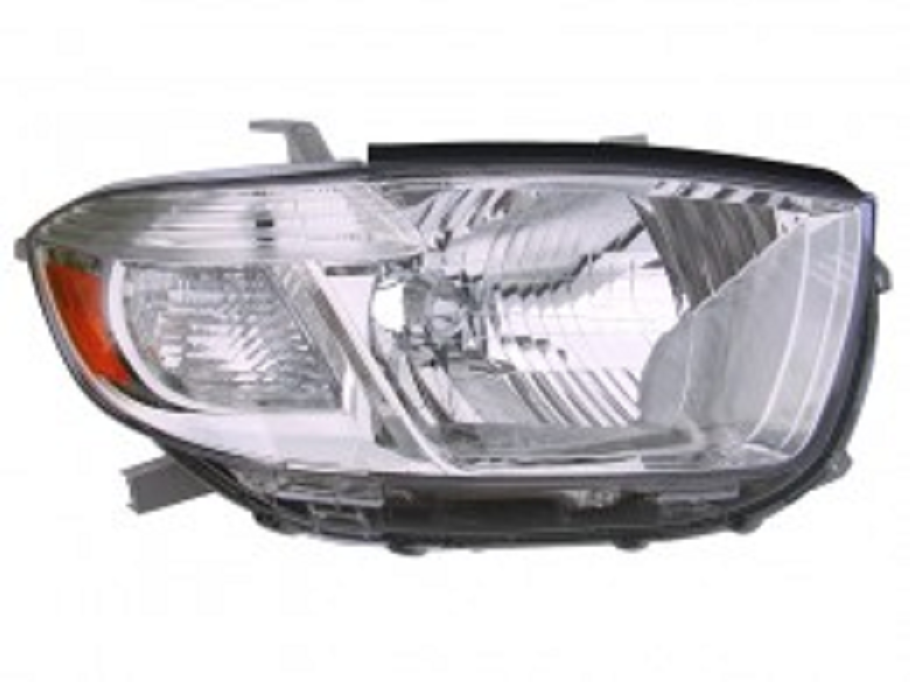 Toyota Highlander 2008 2009 2010 right passenger headlight (Japan built)