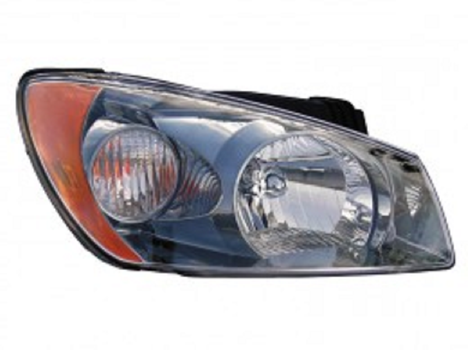 Kia Spectra Sedan 2004 2005 2006 right passenger headlight