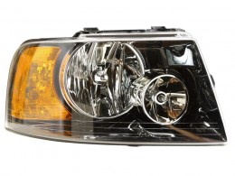 Ford Expedition 2004 2005 2006 right passenger black headlight