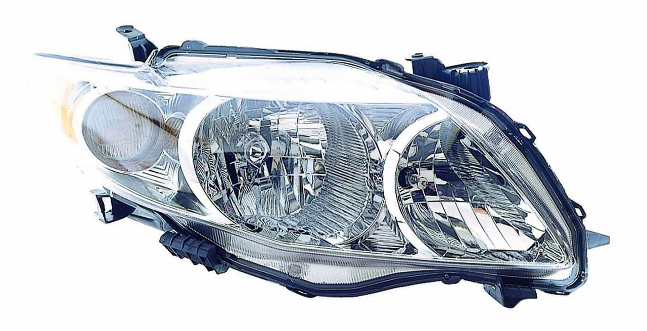 Toyota Corolla sedan 2009 2010 right passenger headlight