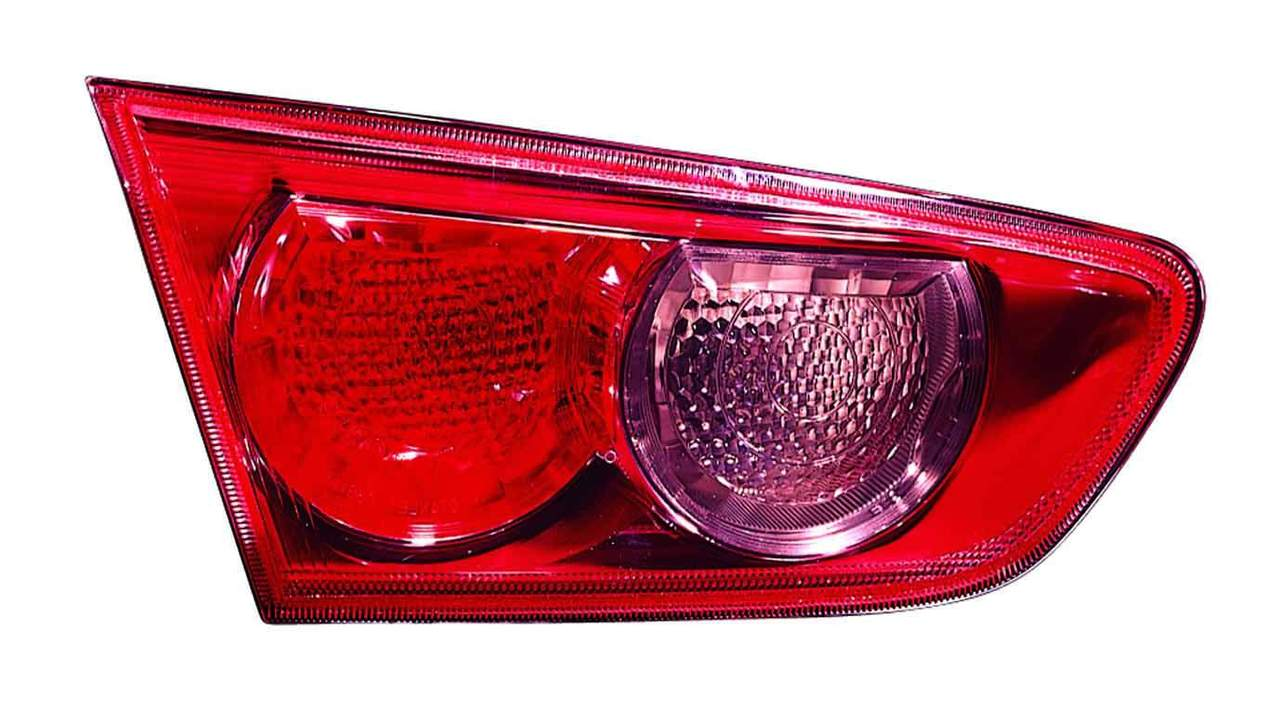 Mitsubishi Lancer 2008 2009 tail light inner left driver