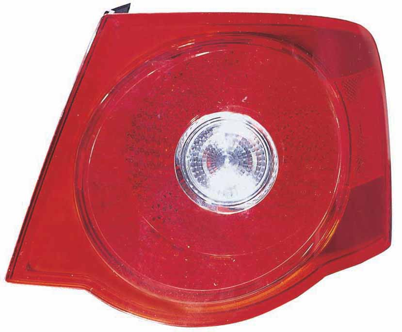 Volkswagen Jetta 2005 2006 2007 tail light right passenger