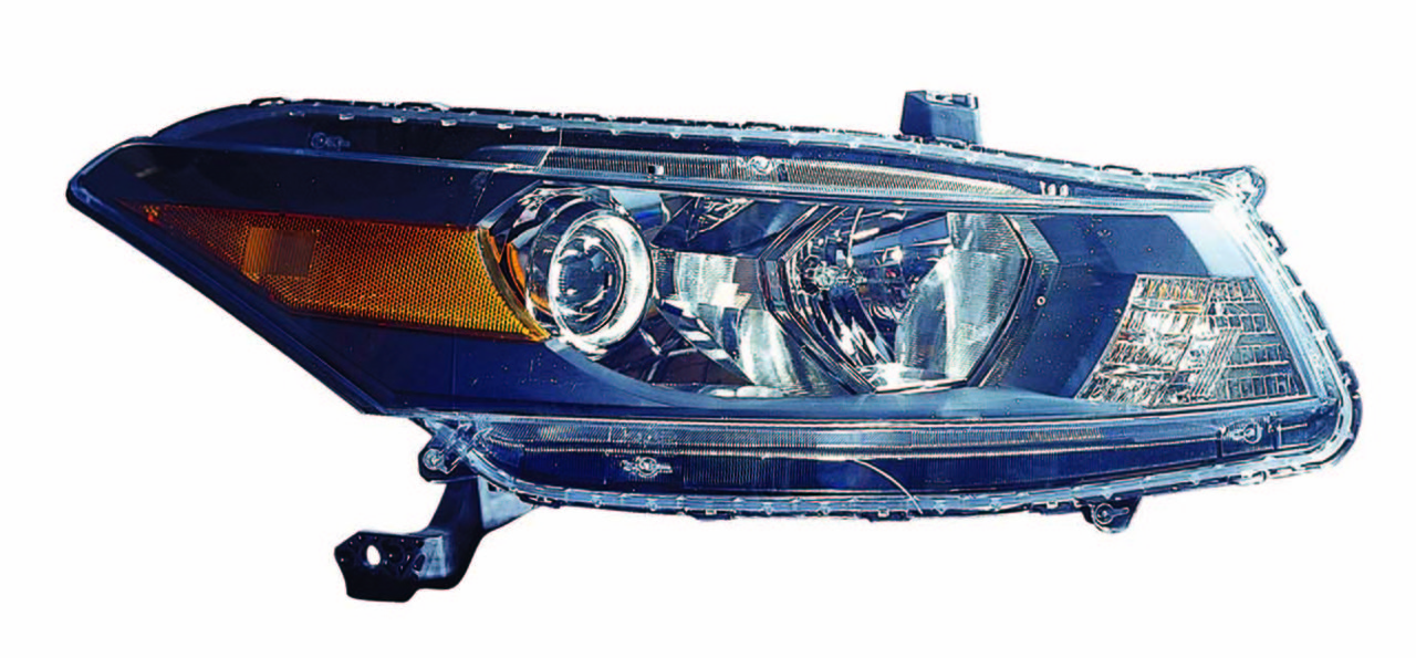 Honda Accord Coupe 2008 2009 2010 2011 2012 right passenger headlight