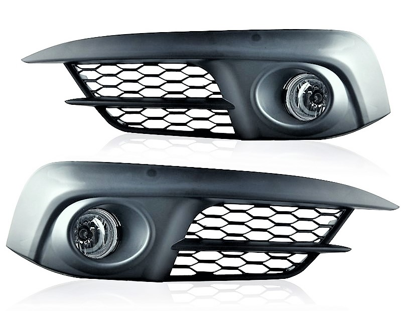 Honda Civic sedan / coupe 2016 2017 2018 left and right fog lights with bezels and wiring kit