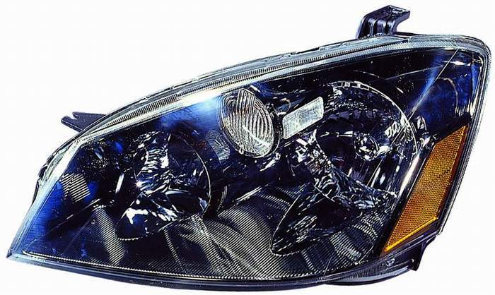 Nissan Altima Sedan 2005 2006 left driver headlight