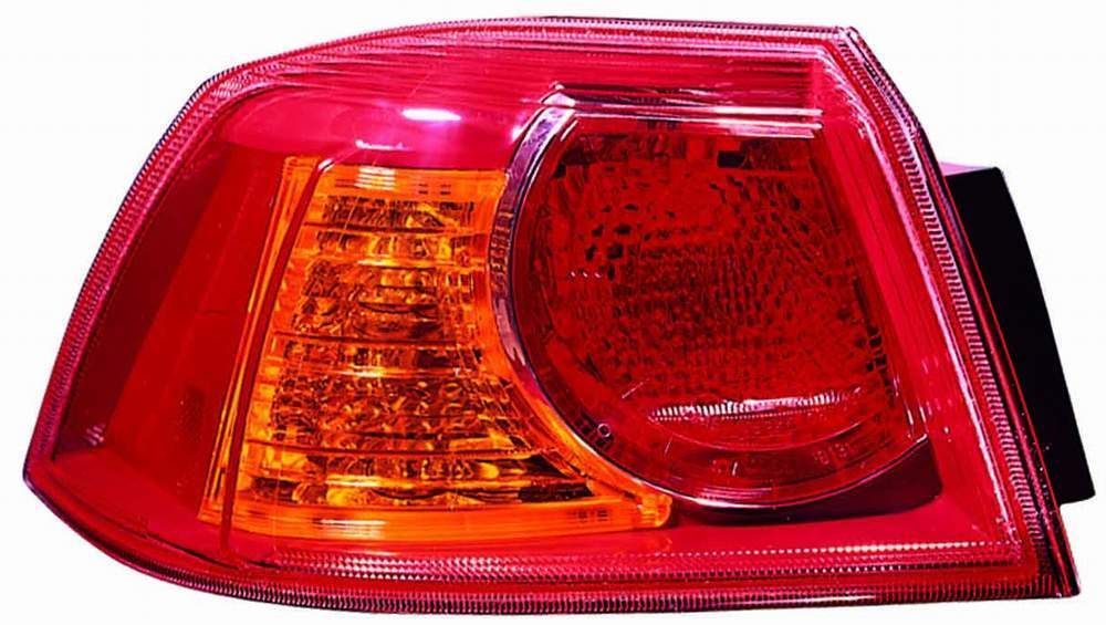 Mitsubishi Lancer 2008 2009 tail light left driver