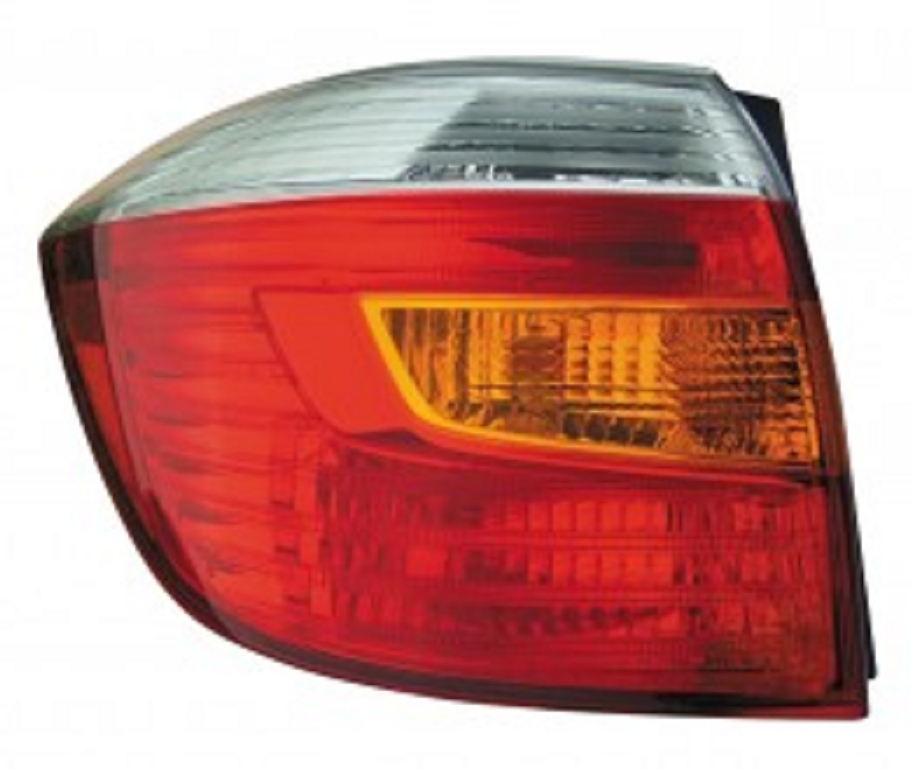 Toyota Highlander 2008 2009 2010 tail light left driver