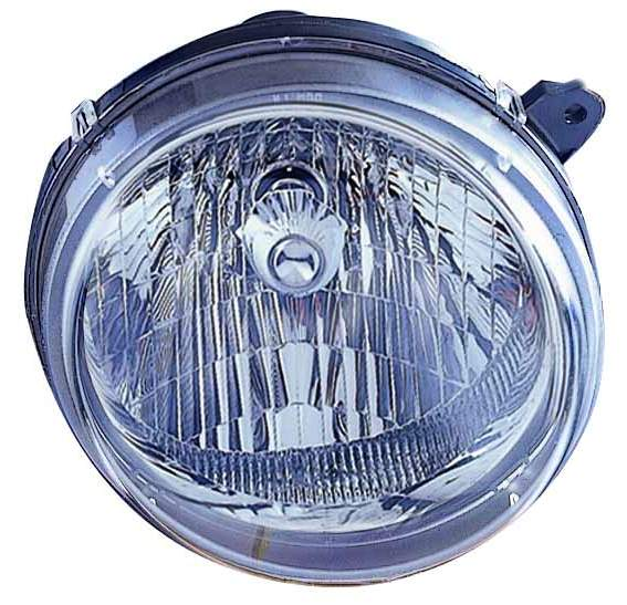 Jeep Liberty 2003 2004 right passenger headlight