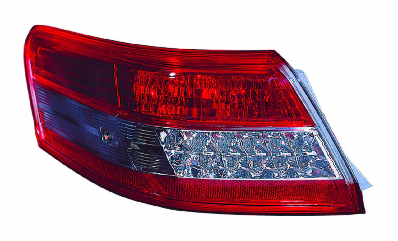 Toyota Camry 2010 2011 tail light left driver outer