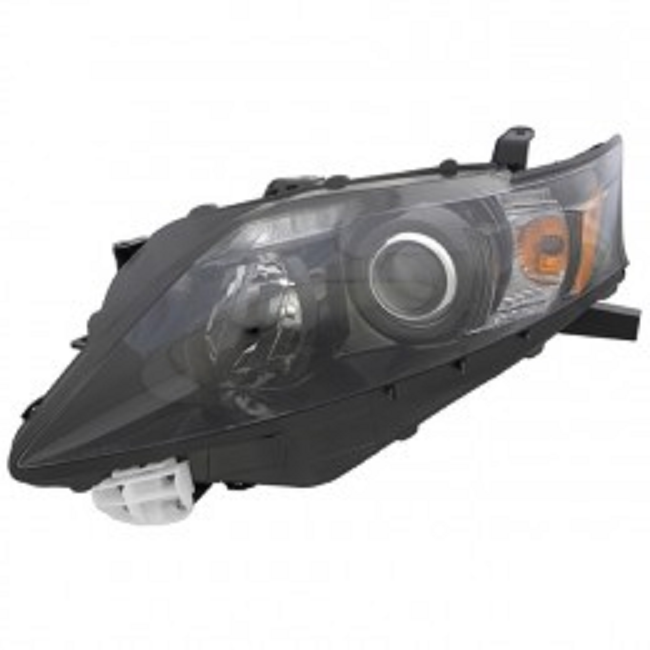 Lexus RX350 2012 left driver headlight black bezel