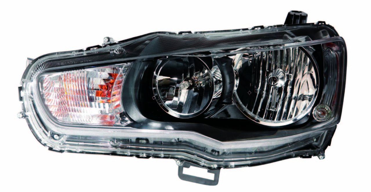 Mitsubishi Lancer 2009 2010 2011 2012 2013 left driver headlight