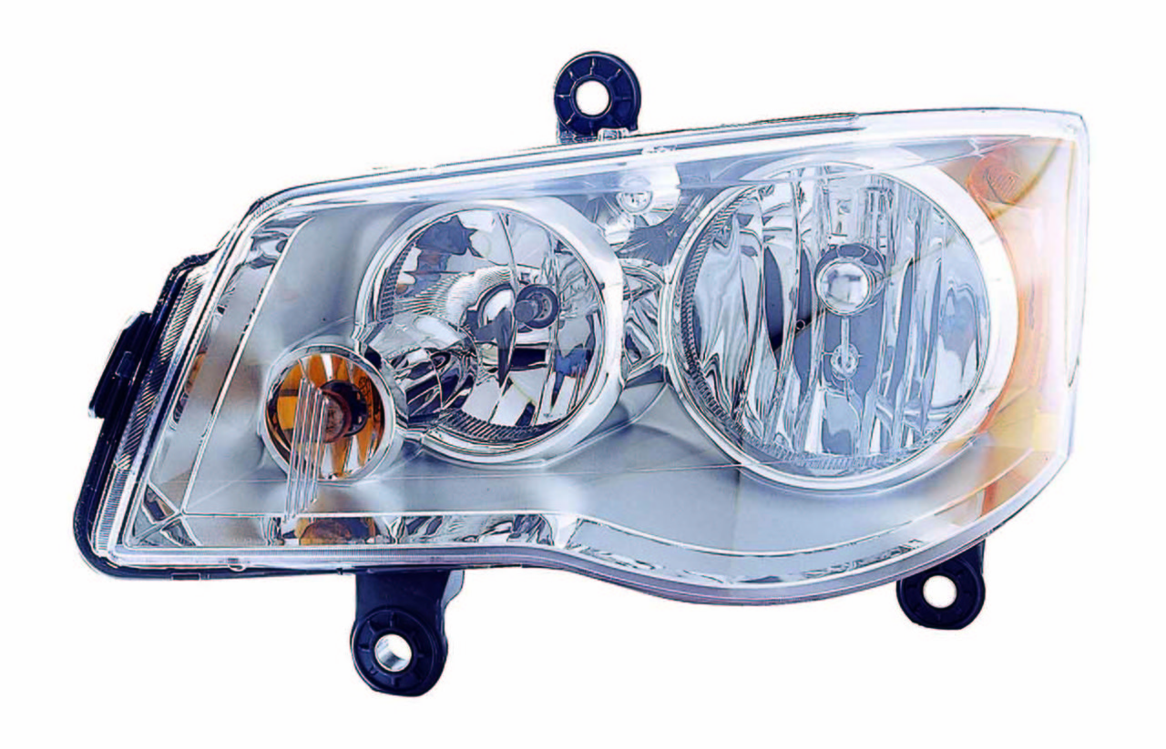 Chrysler Town and Country 2008 2009 2010 left driver headlight