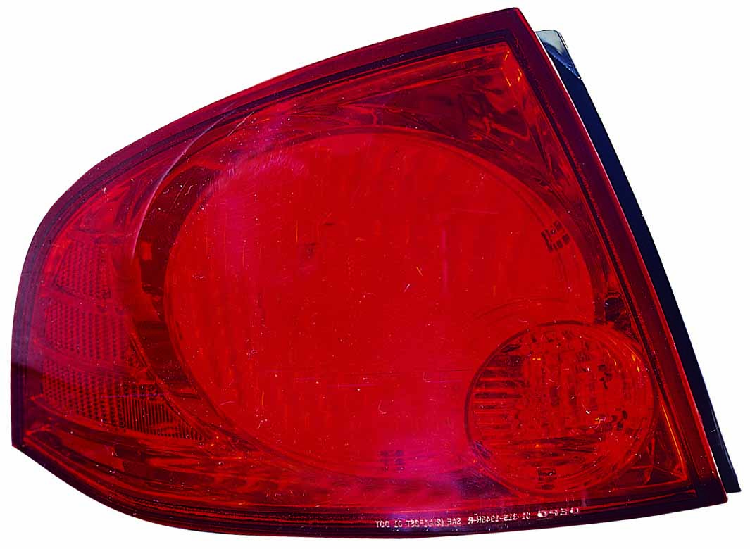 Nissan Sentra 2004 2005 2006 tail light left driver