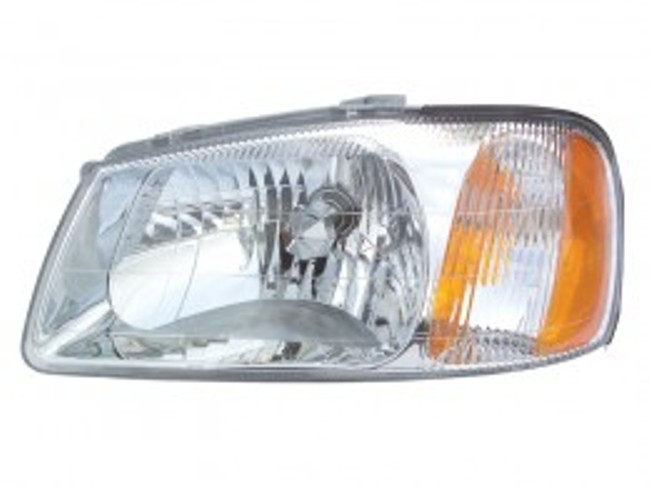Hyundai Accent sedan / hatchback 2000 2001 2002 left driver headlight