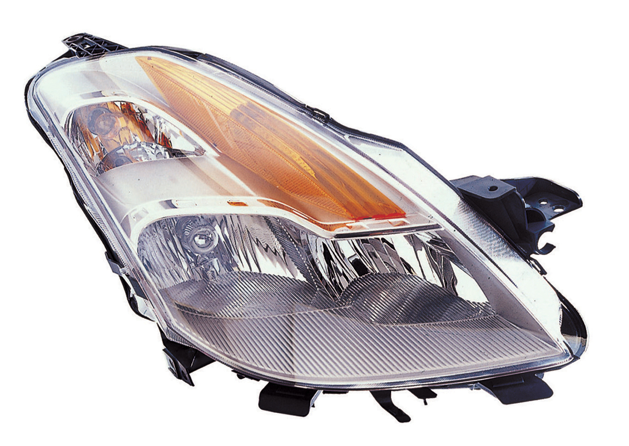 Nissan Altima Coupe 2008 2009 right passenger headlight