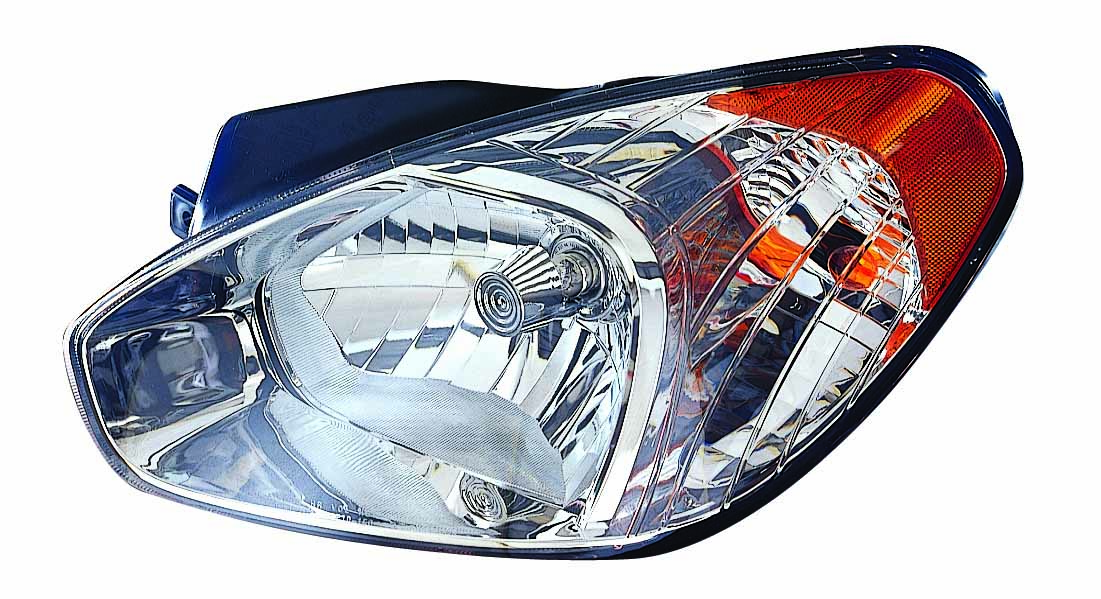 Hyundai Accent sedan 2007 2008 2009 2010 2011 left driver headlight