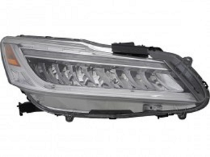 Honda Accord sedan 2016 2017 right passenger LED headlight for Touring model