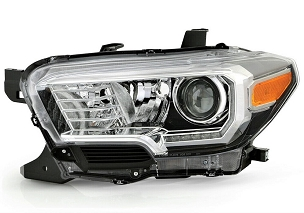Toyota Tacoma TRD / Limited 2016 2017 2018 2019 left driver headlight with DRL