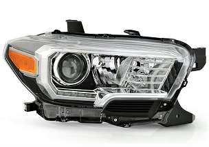 Toyota Tacoma TRD / Limited 2016 2017 2018 2019 right passenger headlight with DRL