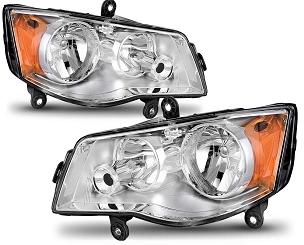 Dodge Grand Caravan 2017 2018 2019 2020 pair right & left headlights