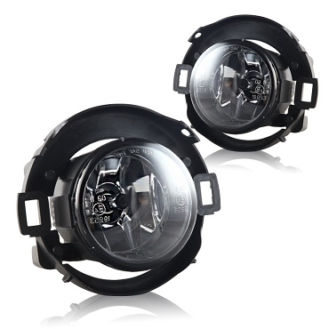 Nissan Xterra 2009 2010 2011 2012 2013 2014 2015 fog lights left and right pair with wiring kit